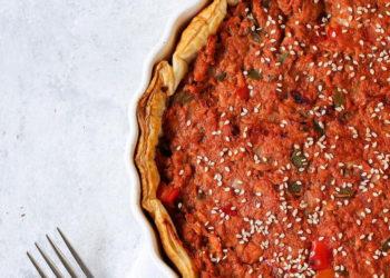 Pastel de atún en lata rápido de hacer con lo que hay en la nevera: es perfecto para la cena