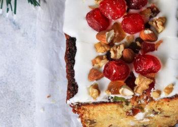 Torta de frutas con nueces: prepáralo como te guste y sírvelo con té en días fríos o lluviosos