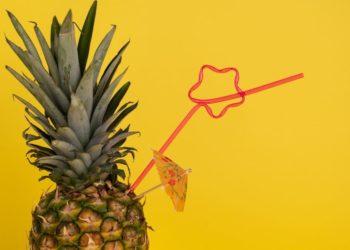 Sorbete de piña: un refresco ligero y saludable para tomar en días de calor
