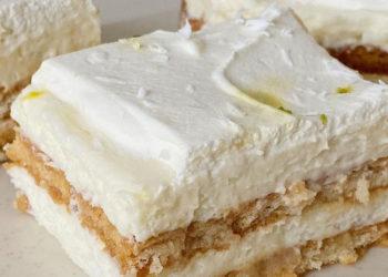 Tarta de limón con leche condensada y galletas: prepara esta receta sin horno