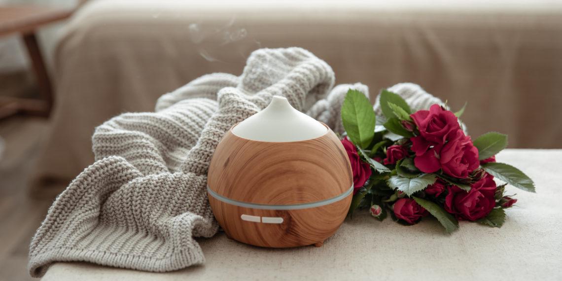 Aromatizante con fragancia a rosas para ambientar cualquier habitación del hogar
