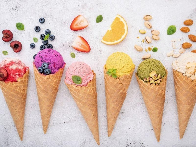 Sándwich de helado de mango y galleta: una sensación entre lo crujiente y lo cremoso