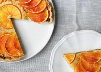 ¡Fácil de preparar! Bizcocho de naranja vegano con solo 5 ingredientes