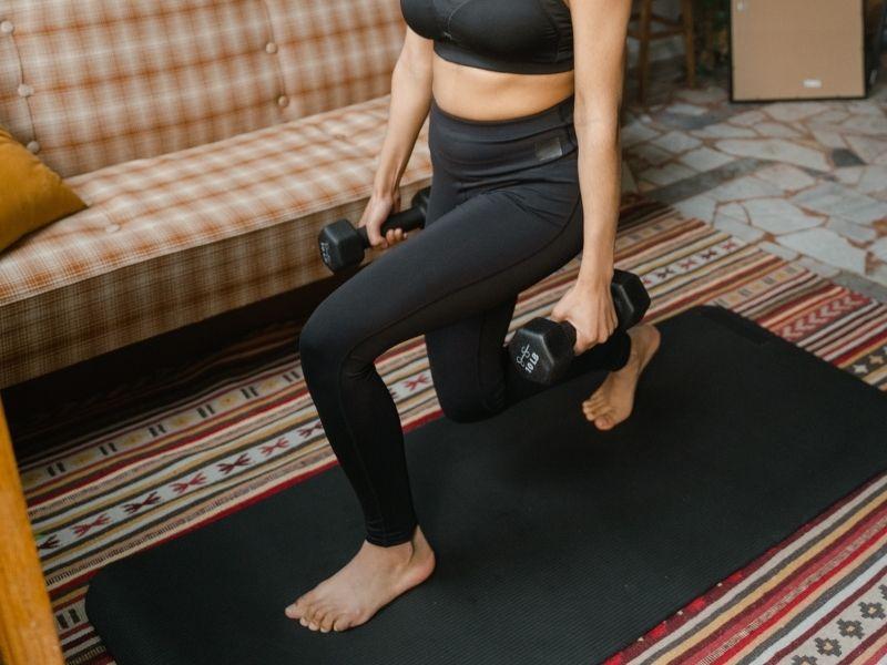 Rutina de ejercicios aeróbicos que puedes realizar en casa