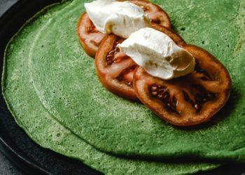Preparar una merienda sin harina es posible con este delicioso wrap de espinaca