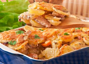 Pastel de papa al horno: prueba esta receta cremosa con jamón y queso