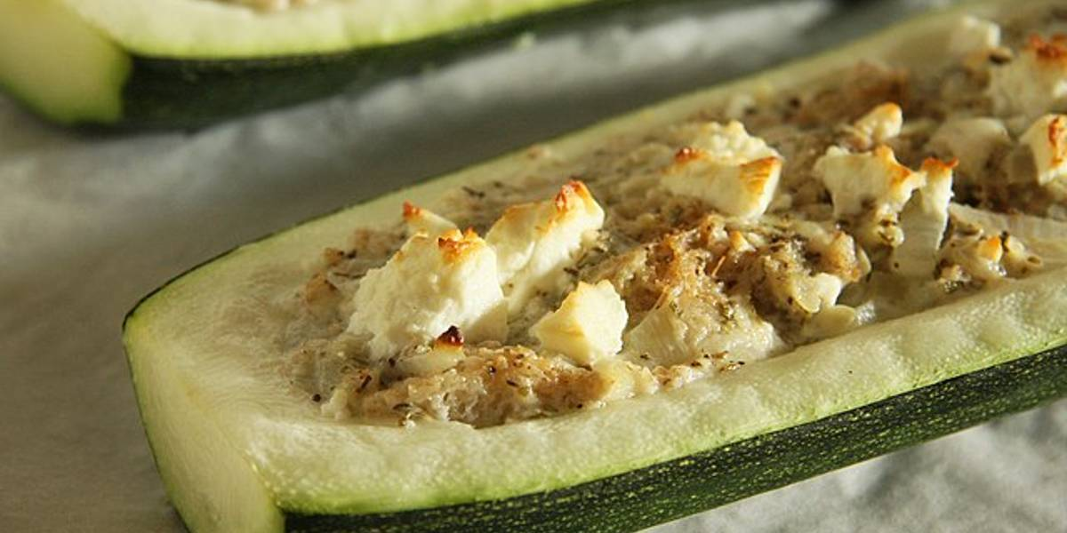 3 recetas de calabacín rellenos fáciles y rápidos de hacer